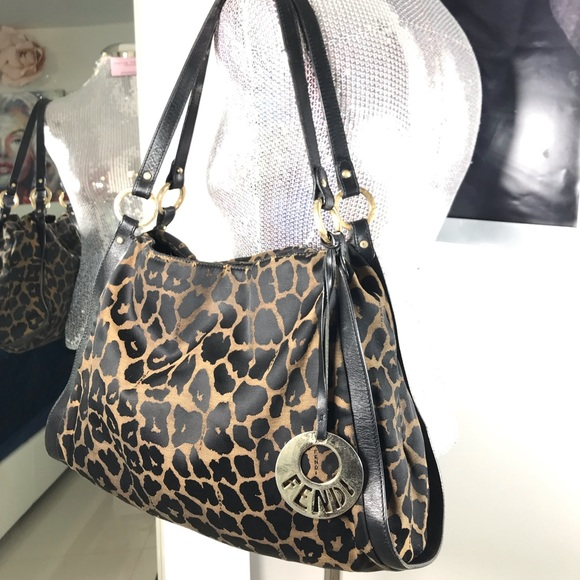 LEOPARD FENDI PURSE 2c37d90ba0205